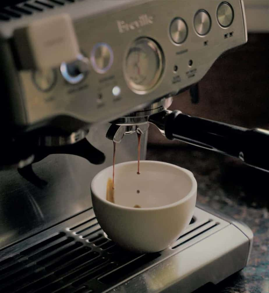 Breville coffee maker machine